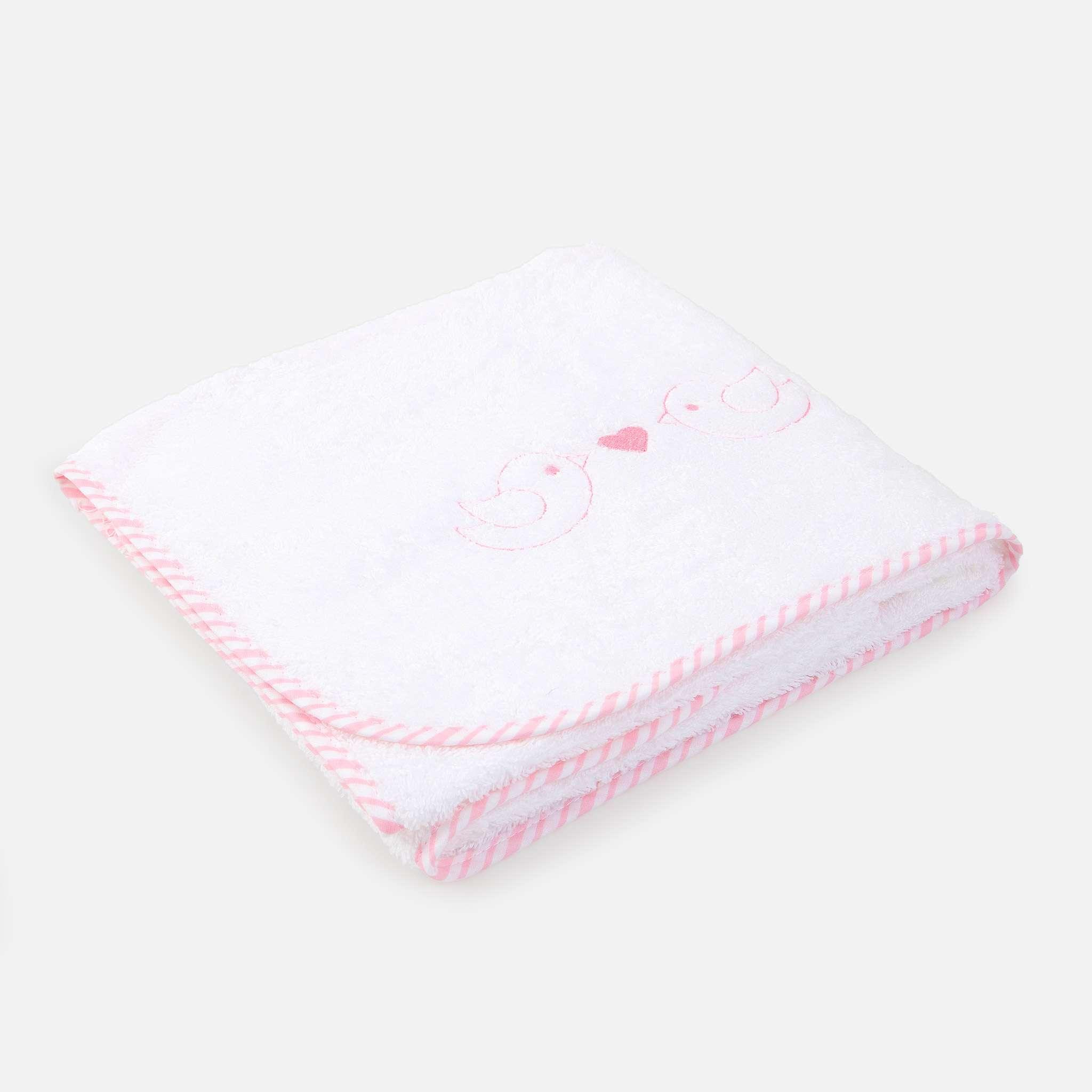 Ballon Pink vauvan käsipyyhe 72x72 cm