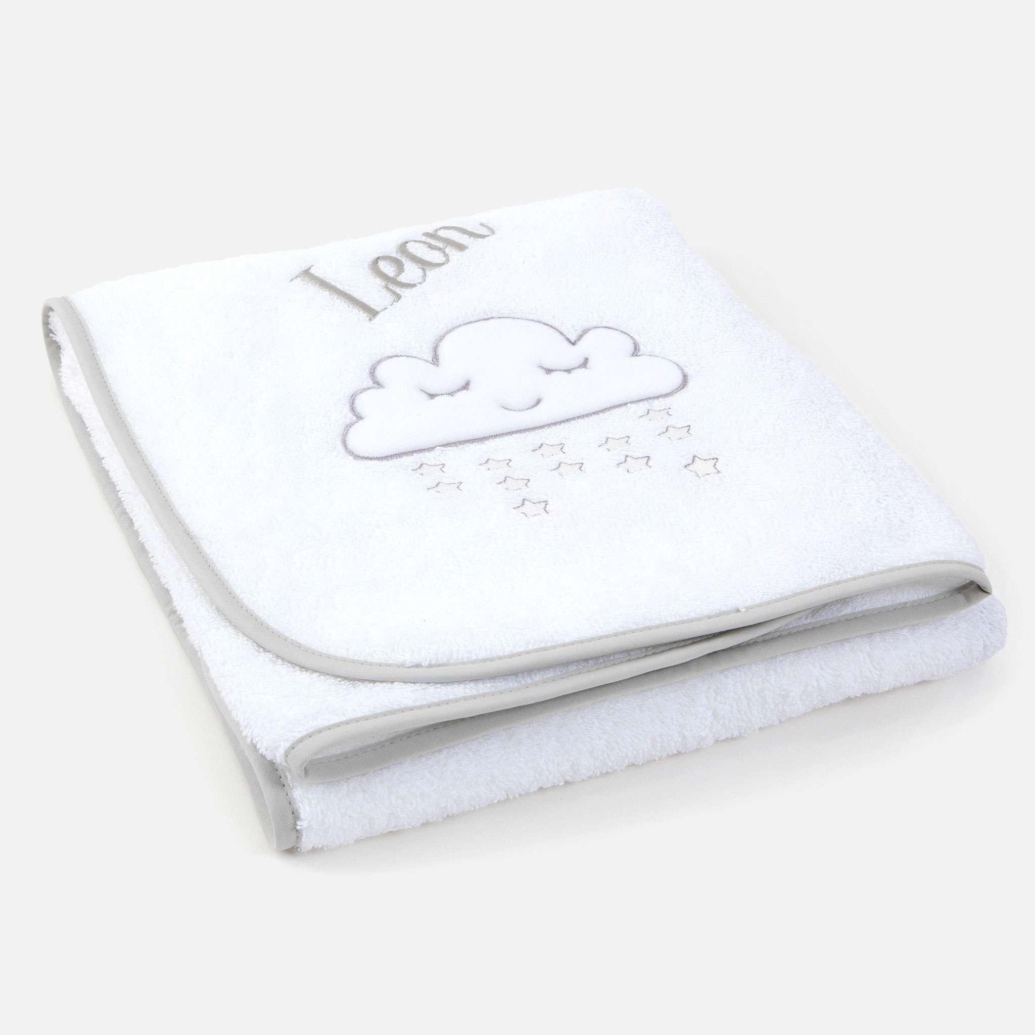 Clouds vauvan käsipyyhe 72x72 cm