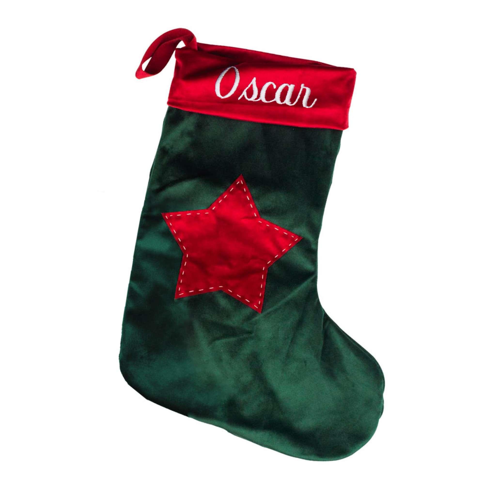 Joulusukka Plyysi Vihreä
