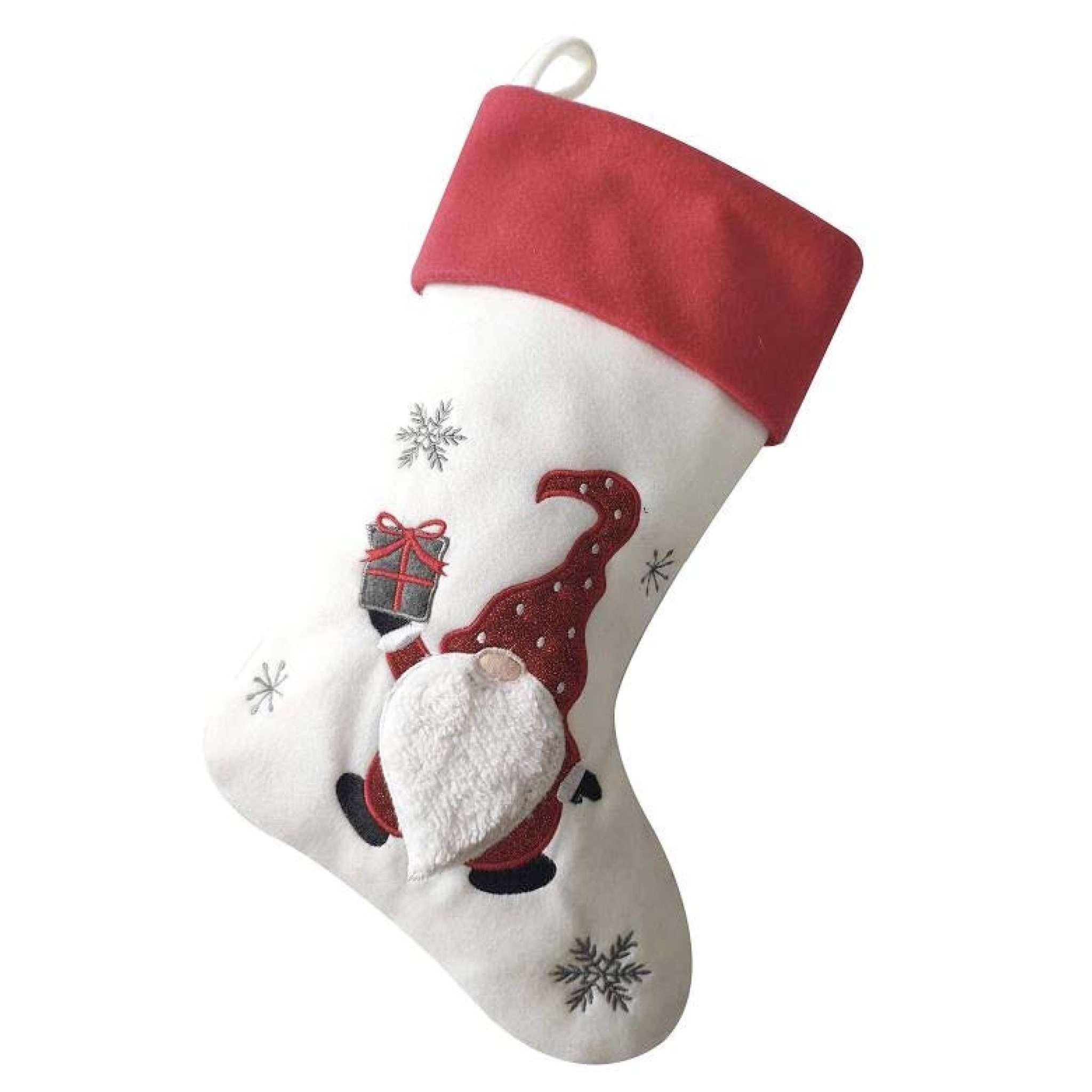 Joulusukka Premium, Joulutonttu valkoinen