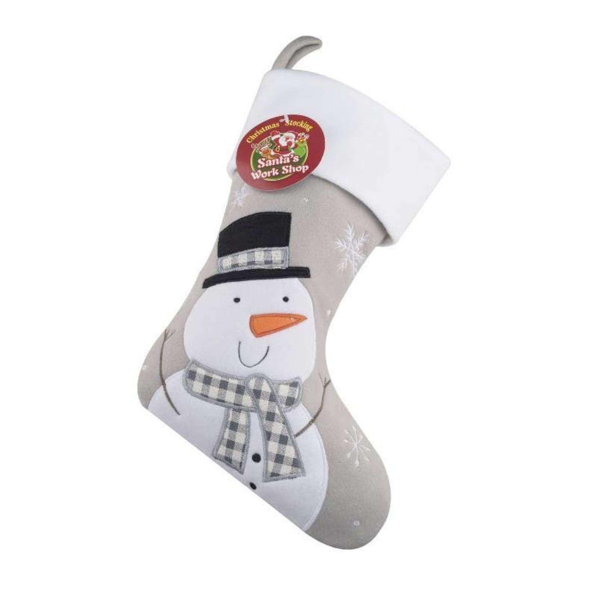 Joulusukka Premium, Lumiukko Harmaa