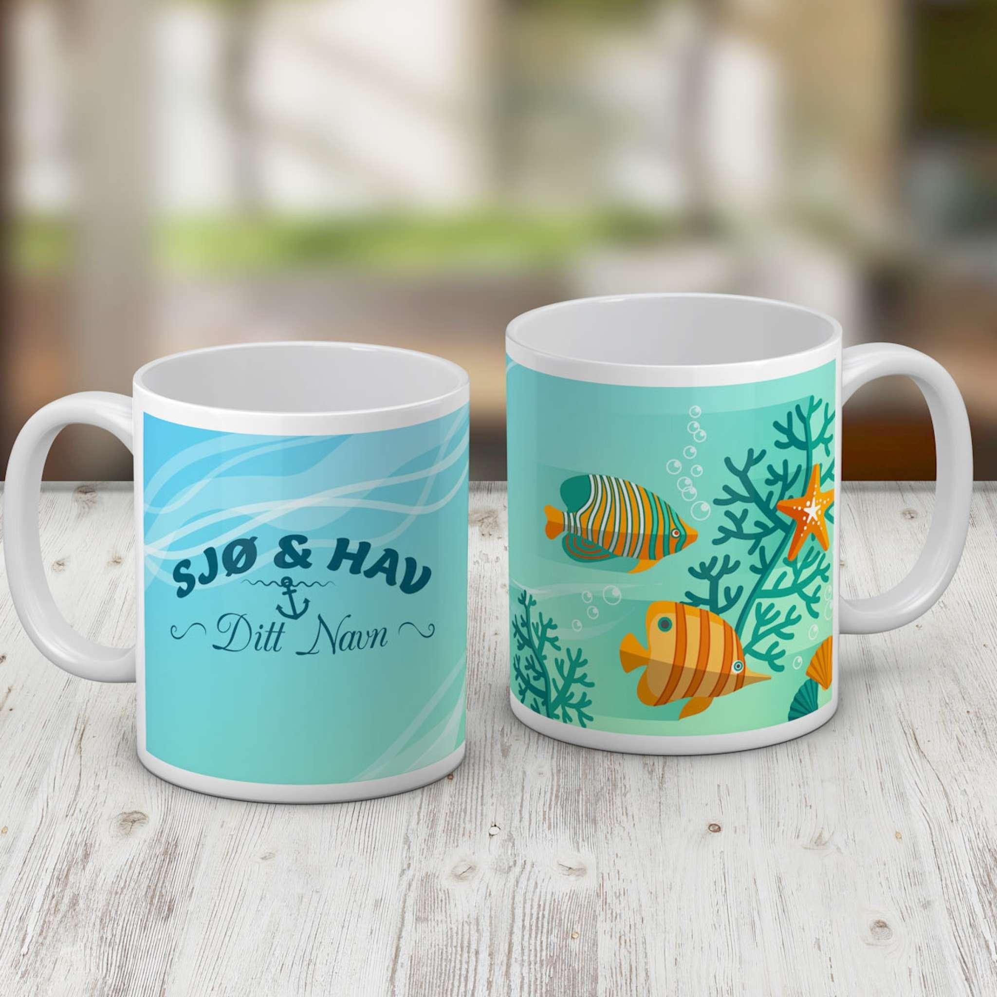 Kahvimuki, järvi ja meri