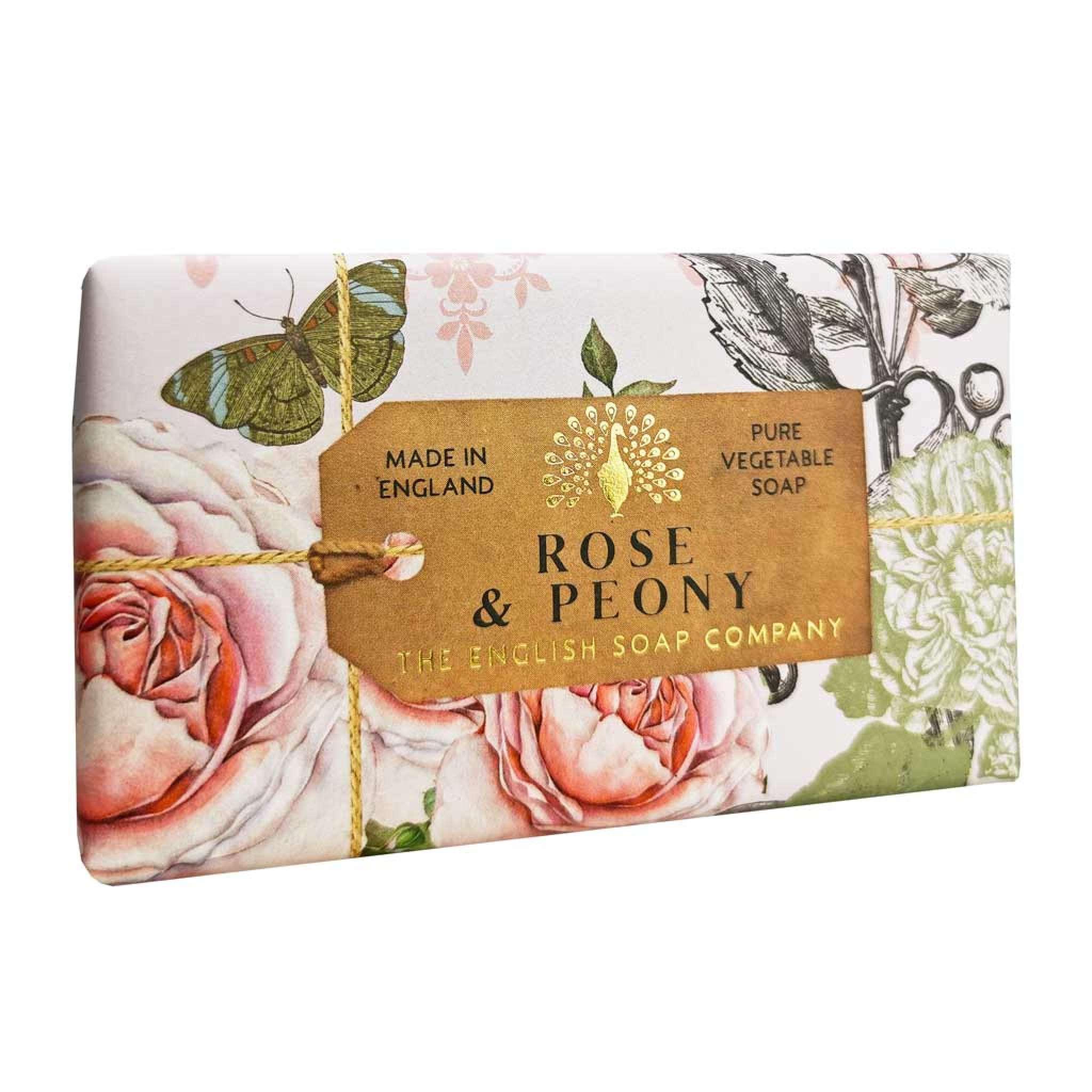 Rose & Peony Anniversary Saippua