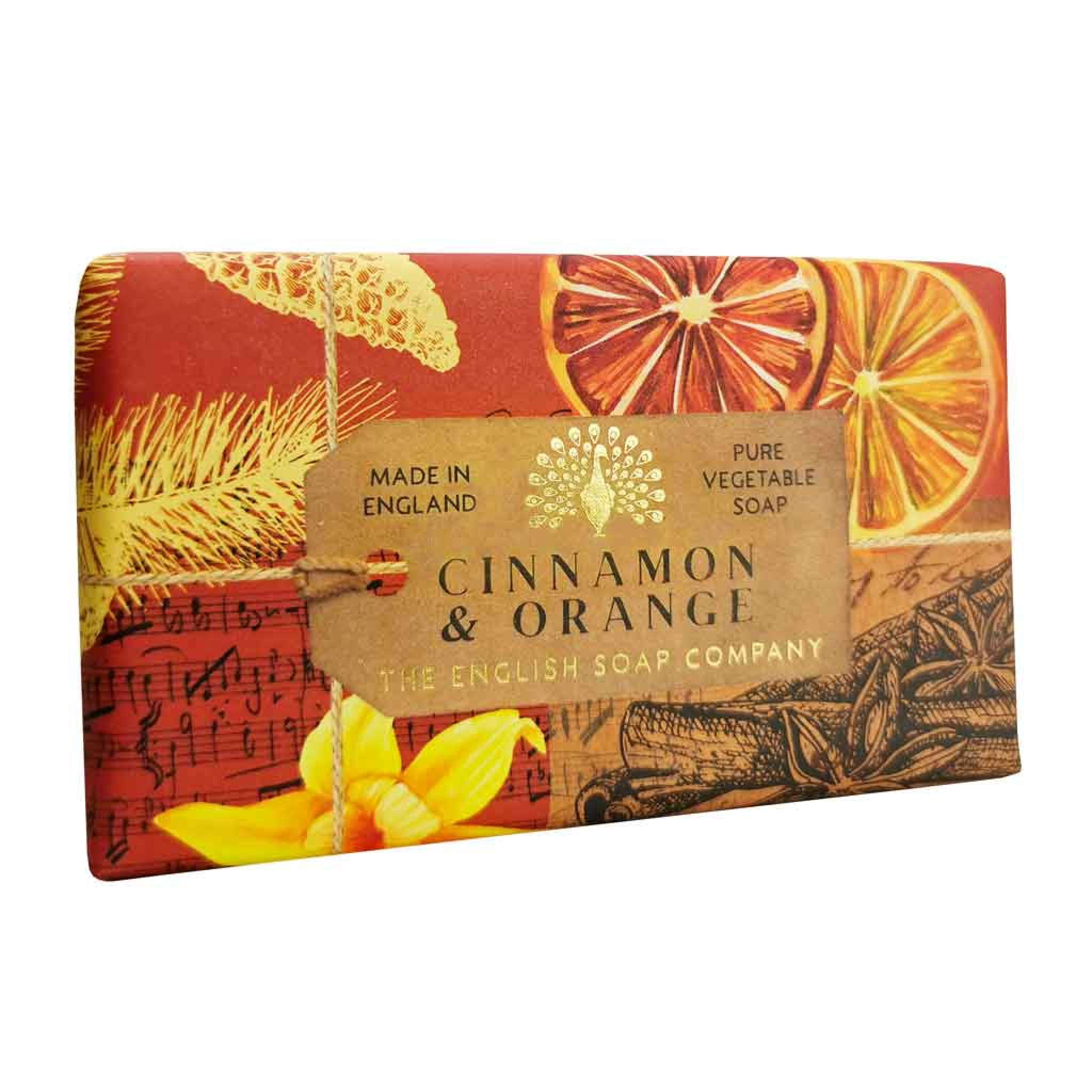 Cinnamon & Orange Anniversary Saippua