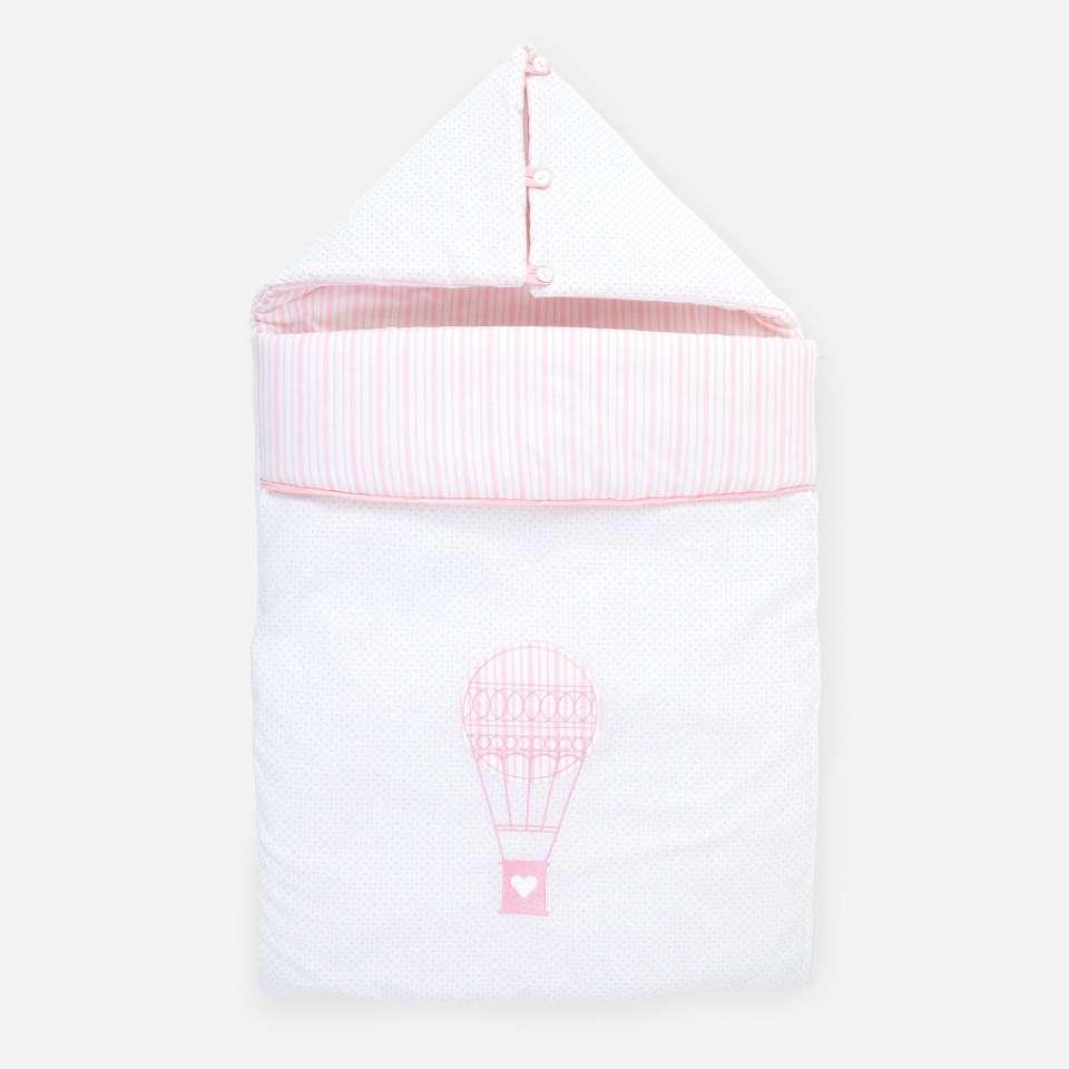 Ballon Pink Reissupussi, 45x80 cm