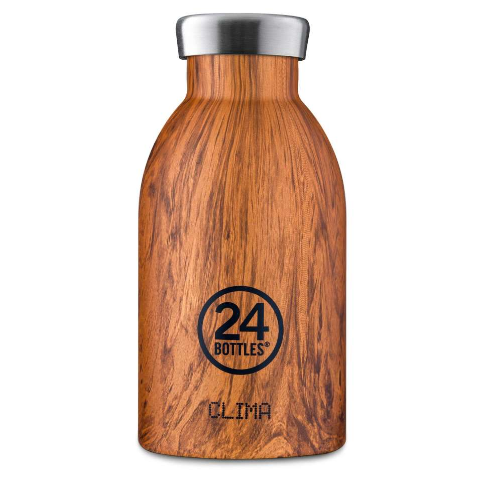 Clima 24Bottles 330 ml Sequoia Wood