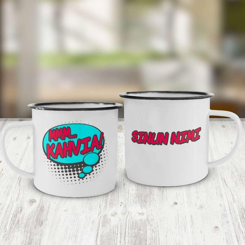 Emalikuppi, Mmm... Kahvia