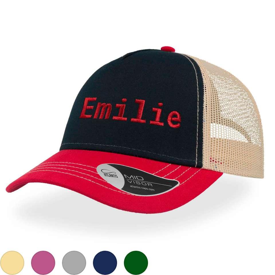Rapper Canvas Caps med stor brodering