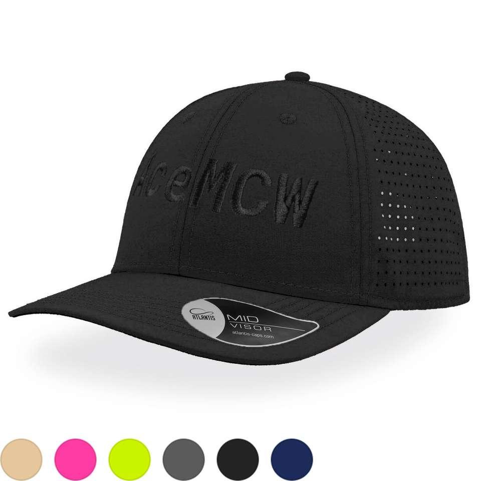 Breezy Caps med stor brodering