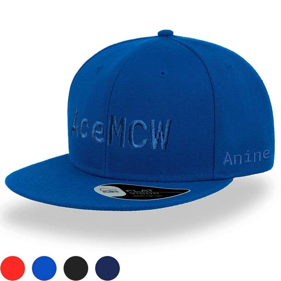 Kids Snap Back Caps med stor brodering