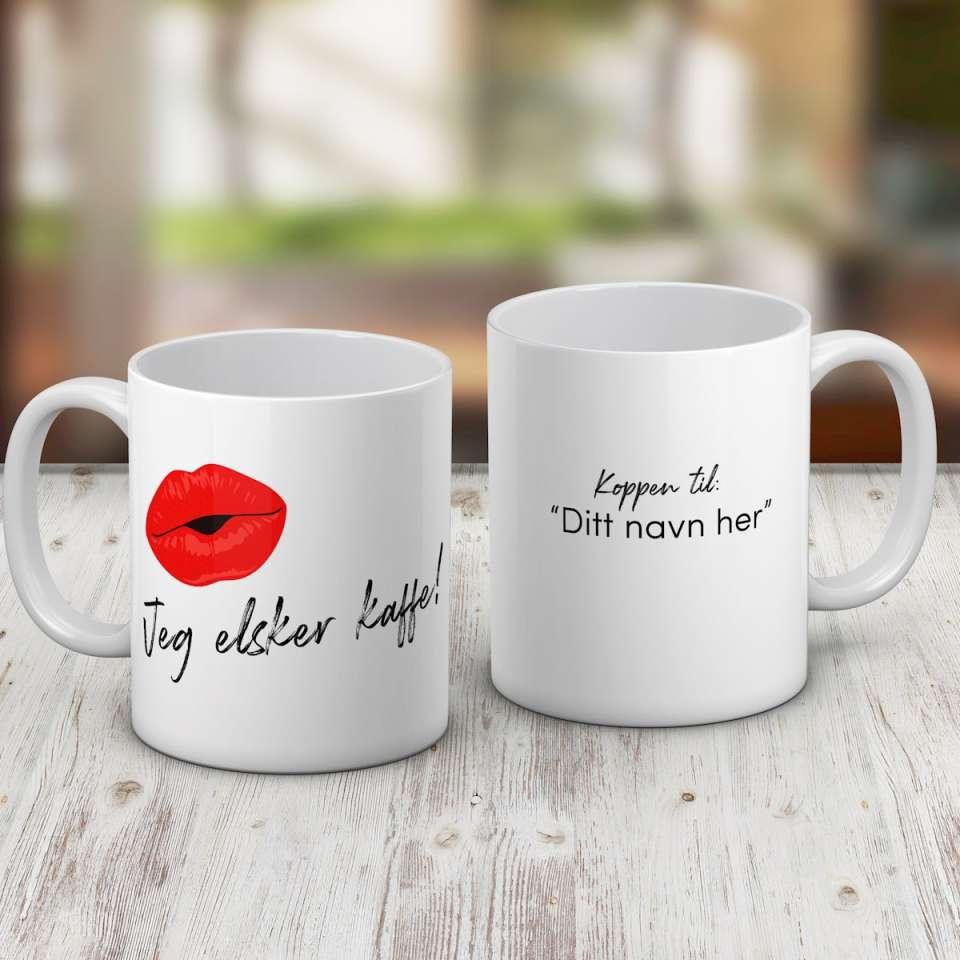 Kaffekrus, Elsker kaffe