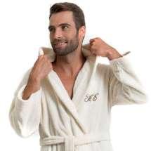 Pehmeä ja tyylikäs kylpytakki hupulla joka tuo luksusta arkeen.
