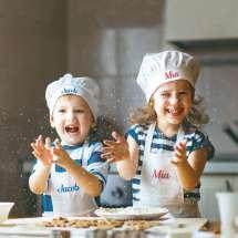 Kätevä ruoan laittoon. Nimikointi voidaan tehdä neljälla erillä värillä.